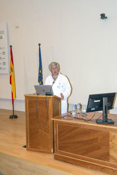 El especialista en Endocrinología, Rafael Palomares