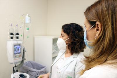 La unidad de mama se ha reformado recientemente para ofrecer espacios más íntimos y cómodos