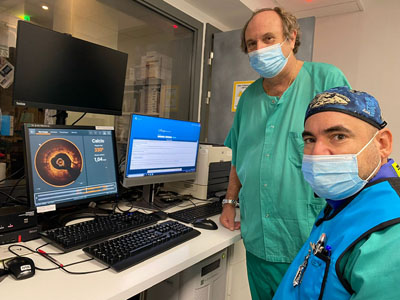 Nuevo software de medición de calcio. Cardiología. Dr. Manuel Pan