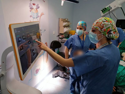 Navegación quirúrgica pediátrica