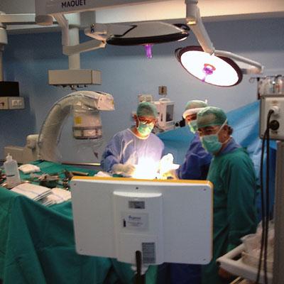 Traumatología utilizando el navegdor quirúrgico