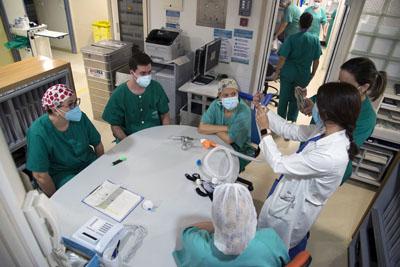 Unidad Covid 4 de Medicina Interna