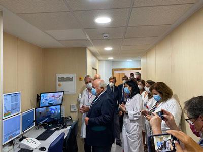 esús Aguirre visita el nuevo ALE donado por la FAO al Hospital Reina Sofía