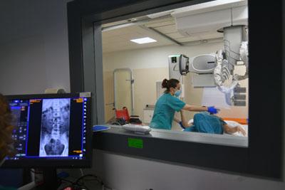 Nuevo equipo de radiología convencional