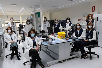 Equipo trasplante autólogo domiciliario
