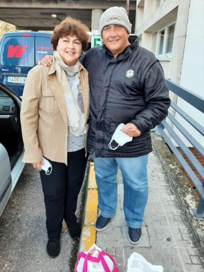 Luis y Araceli en la fase pretrasplante