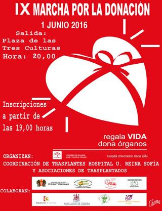 IX Marcha por la Donación. 1 Junio 2016