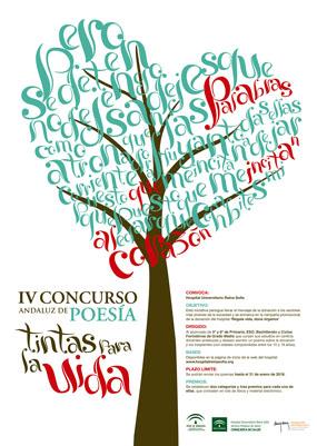 IV Concurso Andaluz de Poesía 'Tintas para la Vida'