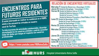 Calendario de encuentros para futuros residentes