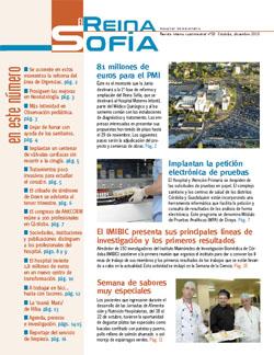 Portada del Reina Sofía nº 20 Diciembre 2010