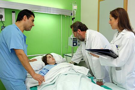 Consulta a enfermo hospitalizado de Aparato Digestivo