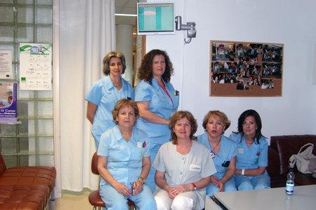 Profesionales del servicio de Cirugía Cardiovascular