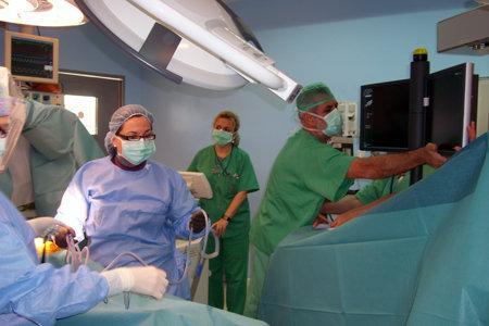 Imagen del quirófano de Cirugía Cardiovascular