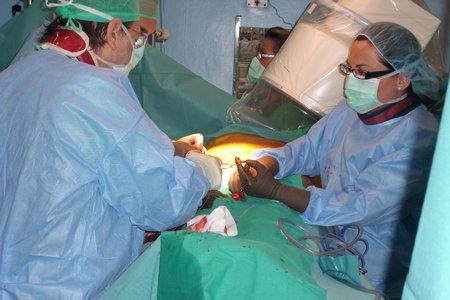 Imagen de quirófano de Cirugía Cardiovascular