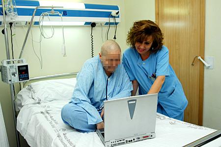 Atención a enfermo hospitalizado en el Servicio de Hematología