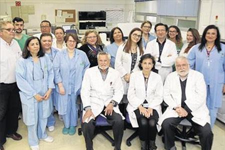 Profesionales del Servicio de Inmunología