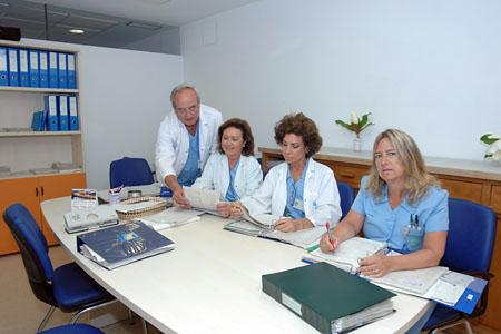 Sala de enfermería