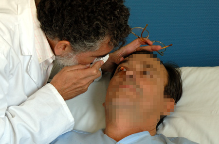 Consulta a paciente hospitalizado en Neurología