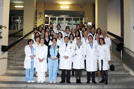 Equipo de Profesionales del Servicio de Oncología