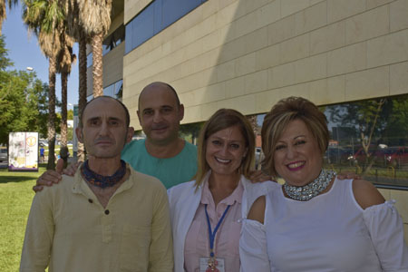 Compañeros de la UGC ORL intercentros del Hospital Universitario Reina Sofía de Córdoba