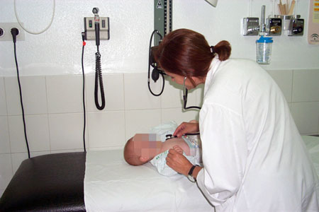 Consulta de Urgencias Pediátricas