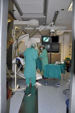 Sala 14. Hospital General (vascular e intervencionismo)