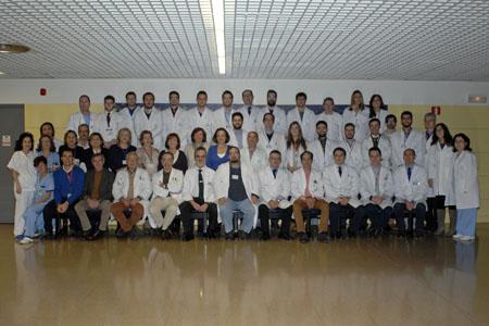 Equipo de profesionales de Traumatología