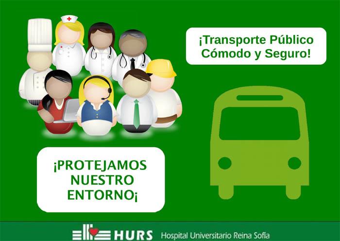 ¡Transporte público cómodo y seguro!. ¡Protejamos nuestro entorno!