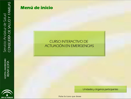 Curso Interactivo de Actuación en Emergencias