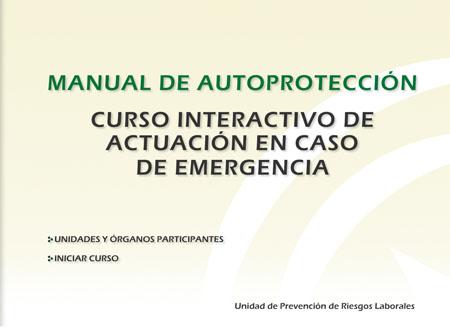 Carátula CD Curso de Autoprotección