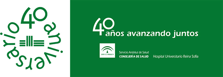 Logotipo y lema 40 aniversario.