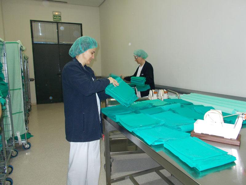 Configurando equipo textil