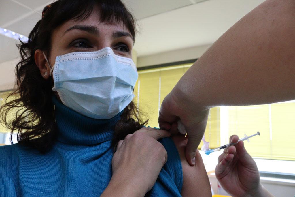 La segunda jornada de vacunación comenzó a las 4.00 pm
