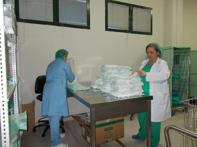 Empaquetando textil