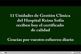 Certificación de once nuevas unidades asistenciales