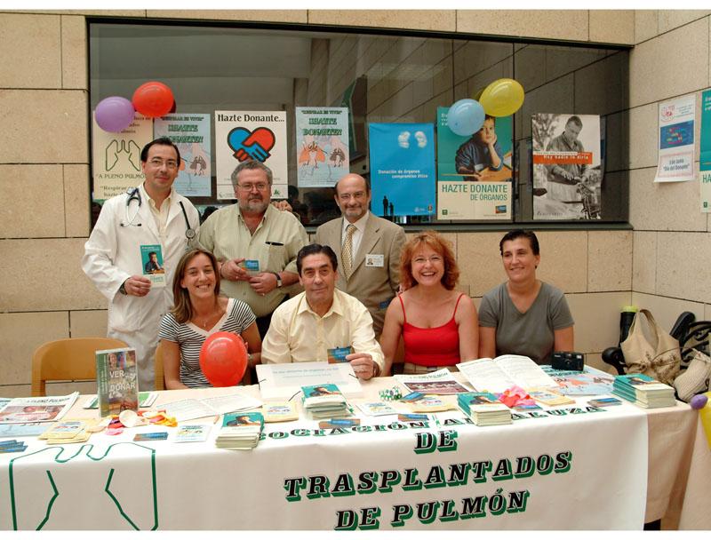 Asociación de trasplantados a pleno pulmón. 2004