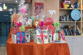 Lotes de regalos para entregar a los ganadores del certamen