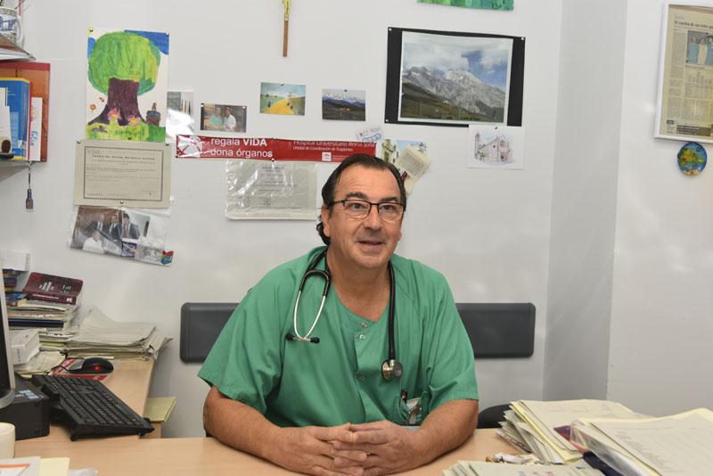 Dr Juan Carlos Robles Arista. Jefe de Sección de Trasplantes.