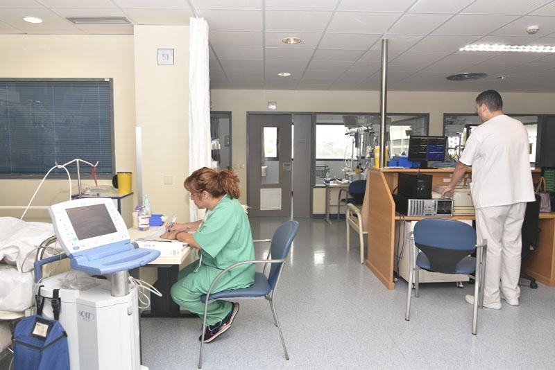 Módulo de trasplantes de la Unidad de Cuidados Intensivos