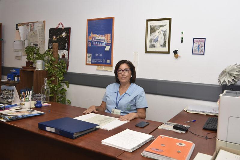 Supervisora de la Unidad de Cuidados Intensivos: Isabel Amor
