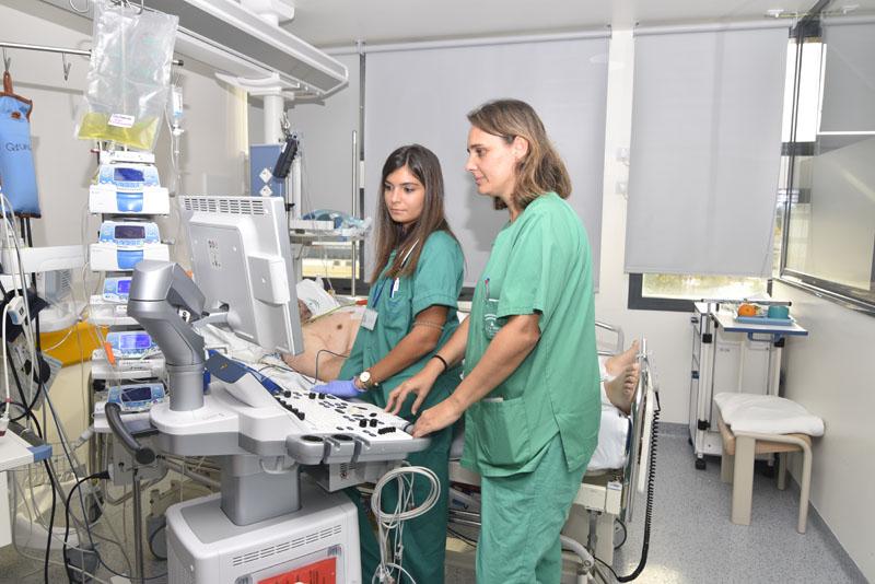 Profesionales de Medicina Intensiva