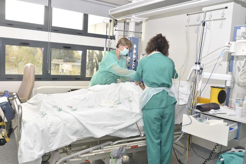 Area del corazón. Cuidados de enfermería en el postoperatorio de cirugía cardiovascular