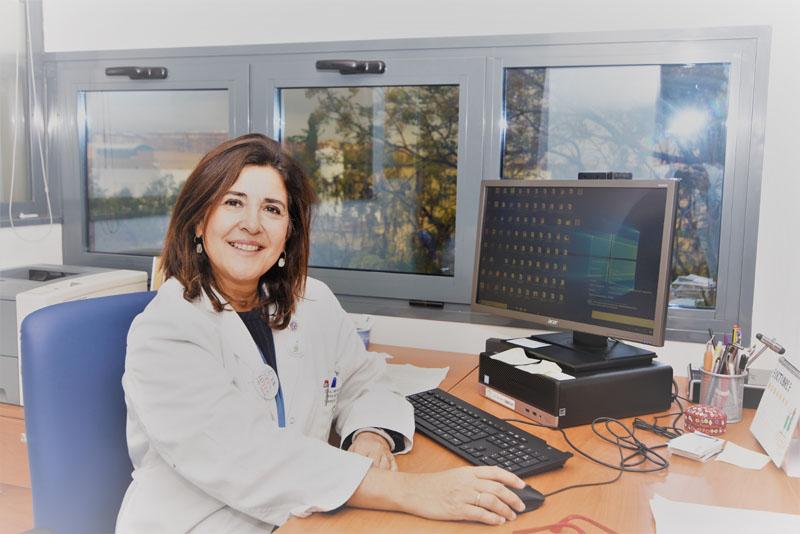 Dra Carmen de la Fuente Martos. Jefa de Servicio de Medicina Intensiva