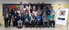 Instructores y alumnos del curso