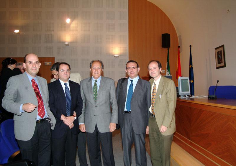 Despedida del doctor Carlos Pera con motivo de su jubilación. 2005