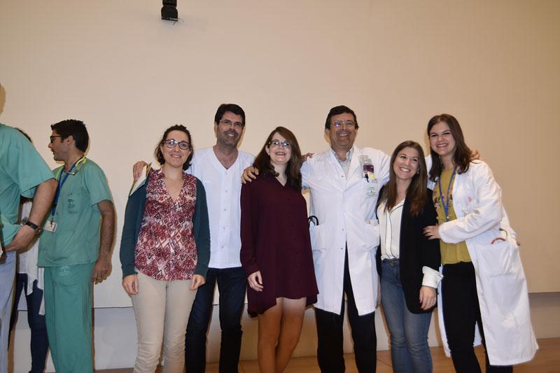 Profesionales y residentes de Medicina Interna