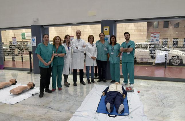 El Hospital se suma al Día Europeo de la Parada Cardiorrespiratoria