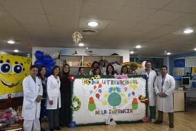La delegada de Salud nos acompaña en la celebración del Día Universal de la Infancia