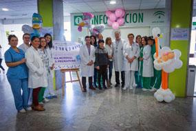 Celebración Día Mundial del Prematuro en el Hospital Reina Sofía