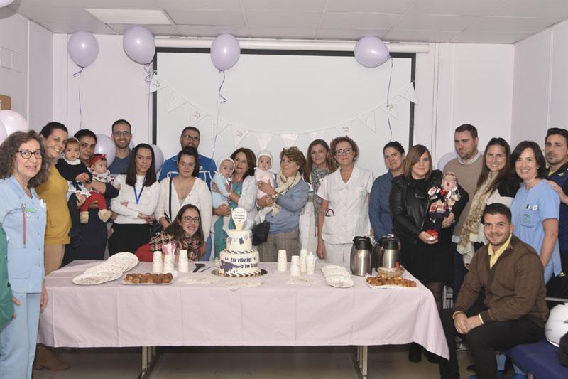 El Hospital celebra el Día del Prematuro